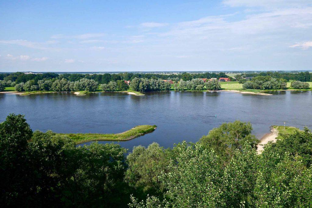Die Elbe im Sommer