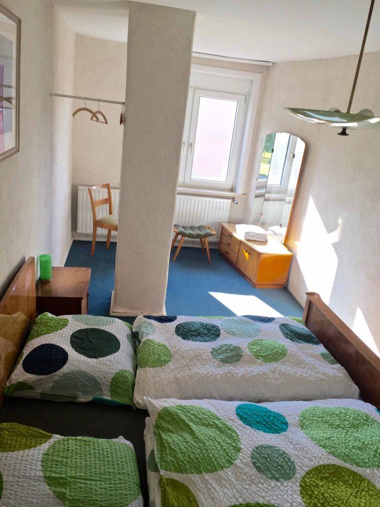 Schlafzimmer 2 - 50er