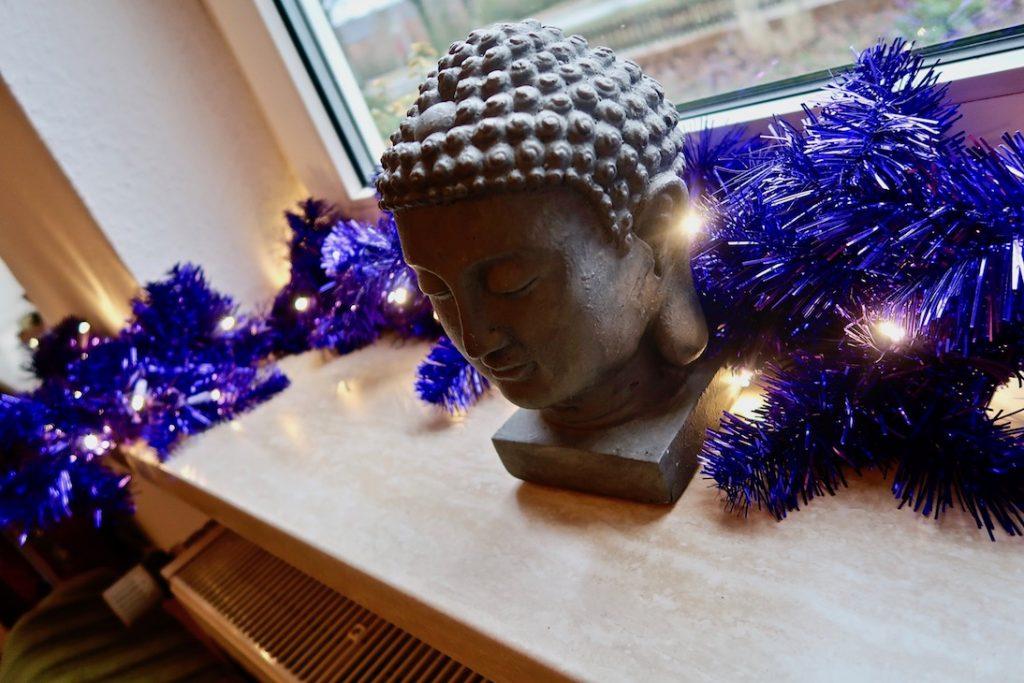 Buddha im Wohnzimmer