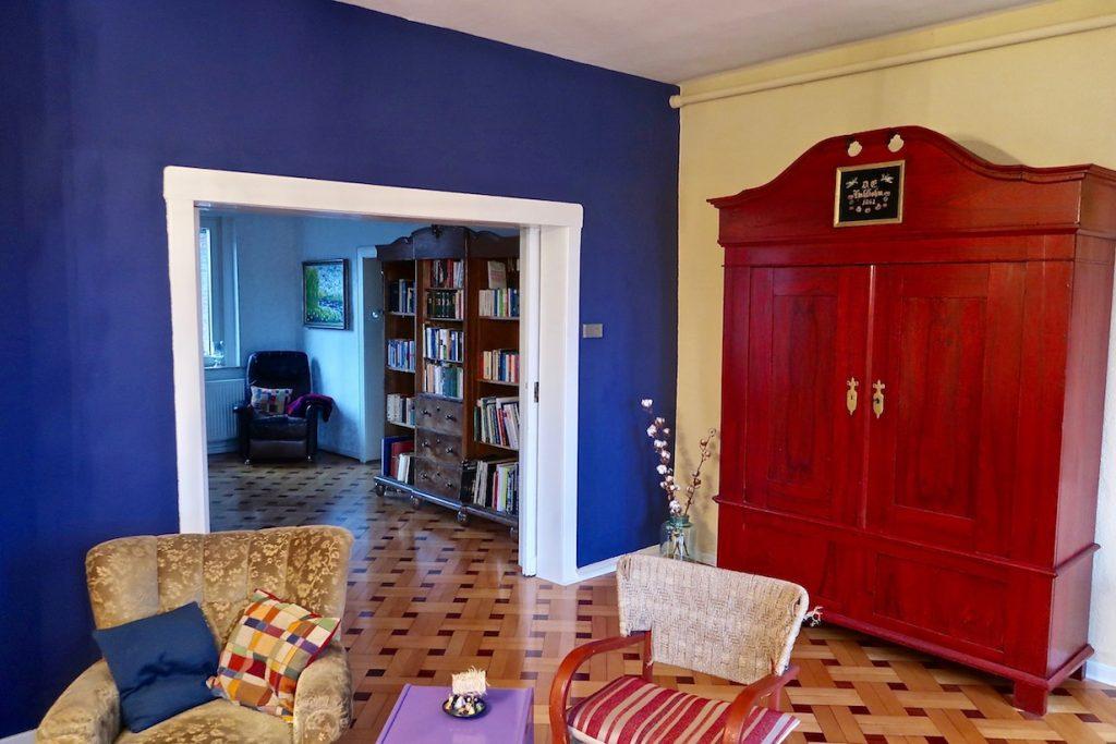 Lounge und Esszimmer