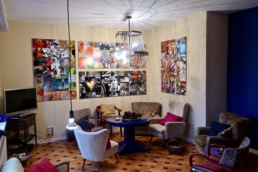 Die Lounge - das Fernsehzimmer