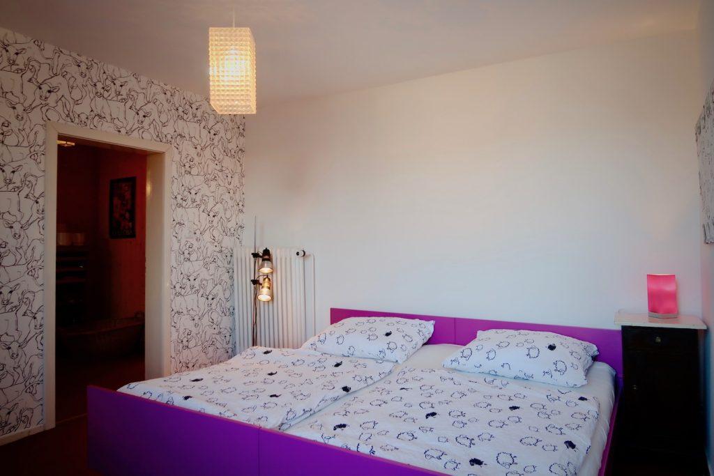 Schlafzimmer 3 - Kuhzimmer