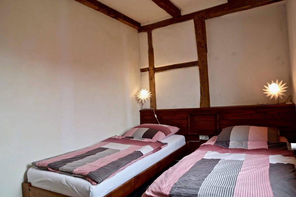 """Schlafzimmer 4 """"Fachwerkzimmer"""""""